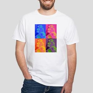 Animal Graphics White T-Shirt