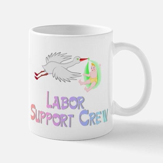 Labor Support Crew (Stork) Mug