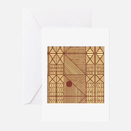 African Textile Greeting Cards (Pk of 10)