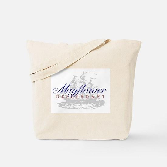 Mayflower Descendant - Tote Bag