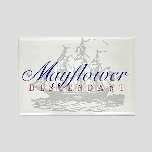 Mayflower Descendant - Rectangle Magnet