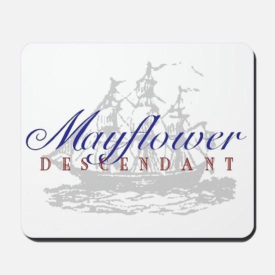 Mayflower Descendant - Mousepad