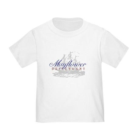 Mayflower Descendant - Toddler T-Shirt