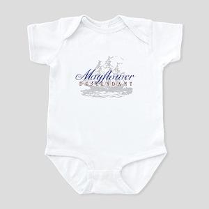 Mayflower Descendant - Infant Bodysuit