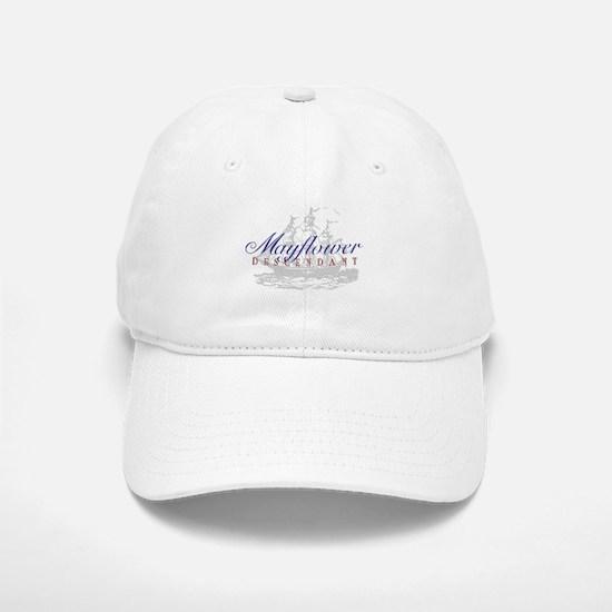 Mayflower Descendant - Baseball Baseball Cap