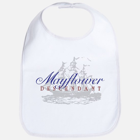 Mayflower Descendant - Bib