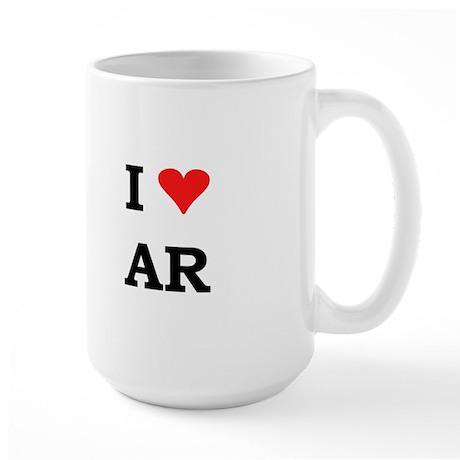 I Heart Arkansas Large Mug