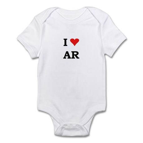 I Heart Arkansas Infant Bodysuit