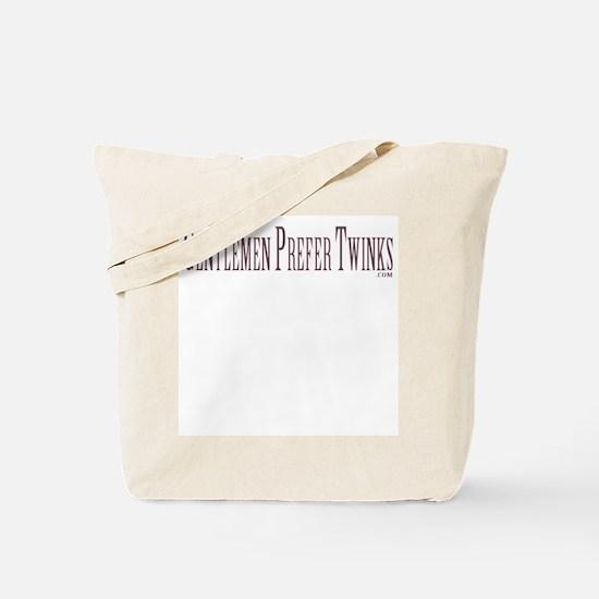Gentlemen Prefer Twinks Tote Bag