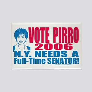 Jeannine Pirro Senate 2006 Rectangle Magnet