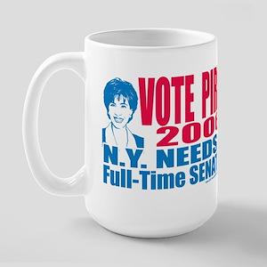 Jeannine Pirro Senate 2006 Large Mug