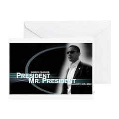 Barack Obama is President, Greeting Cards (Pk 20)