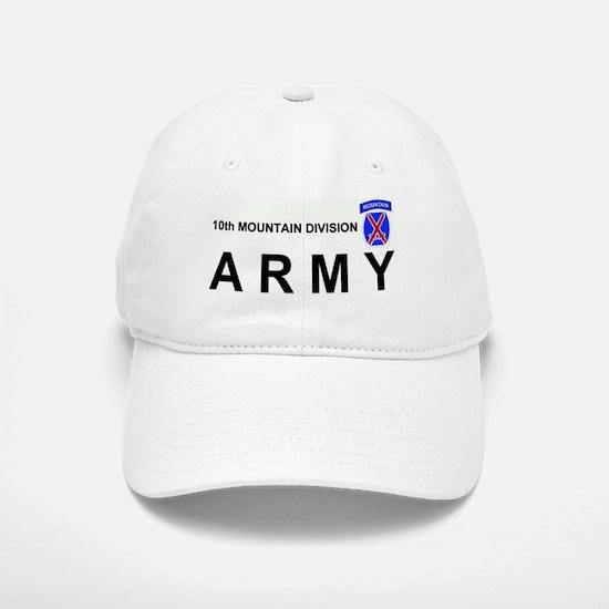 10th MOUNTAIN DIVISION Baseball Baseball Cap