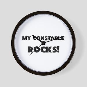 MY Constable ROCKS! Wall Clock