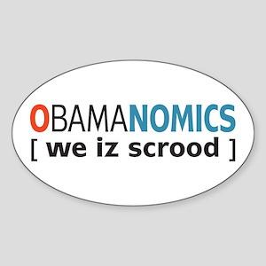 Anti - Obama Oval Sticker