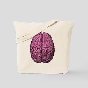 Human Anatomy Brain Tote Bag