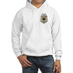 Hooded Sweatshirt Police Chaplain Badge