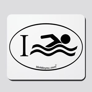 i Swim Mousepad