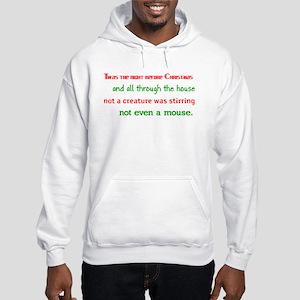 Night Before Christmas Hooded Sweatshirt