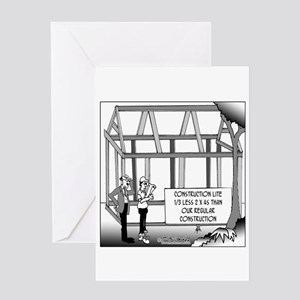 Construction Lite Greeting Card