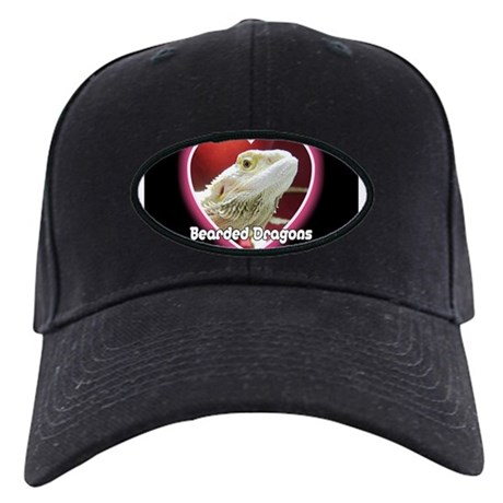 Bearded Dragons Heart Black Cap
