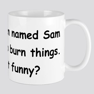 Alien named Sam Mug