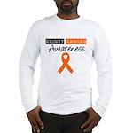 Kidney Cancer Awareness Long Sleeve T-Shirt