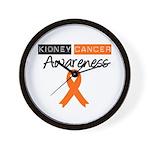 Kidney Cancer Awareness Wall Clock