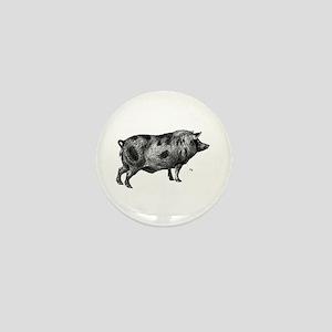 Pig / Hog Mini Button