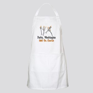 Forks, Washington Hell On Earth BBQ Apron