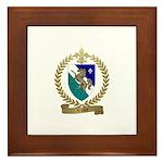 VALLEE Family Crest Framed Tile