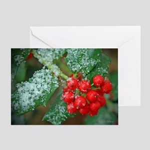 Holly Jolly Greeting Card