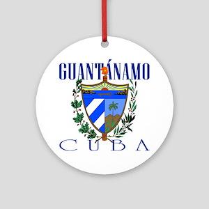 Guantanamo Ornament (Round)
