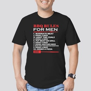BBQ Rules For Men Drink A Beer Barbecue T-Shirt