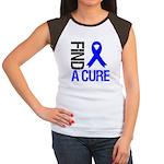 FindACure ColonCancer Women's Cap Sleeve T-Shirt