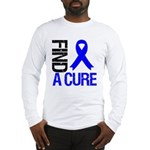 FindACure ColonCancer Long Sleeve T-Shirt