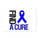 FindACure ColonCancer Postcards (Package of 8)
