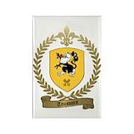 TOUSSAINT Family Crest Rectangle Magnet (100 pack)