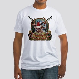 opening day is like Cristmas Fitted T-Shirt