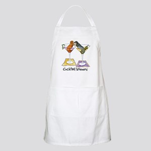 Double Cocktail Wiener BBQ Apron