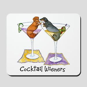 Double Cocktail Wiener Mousepad