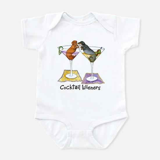 Double Cocktail Wiener Infant Bodysuit