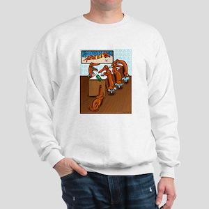 Belly Up to the Weiner Bar Sweatshirt