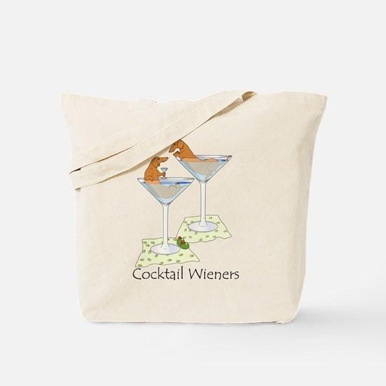 Cocktail Wieners (red) Tote Bag