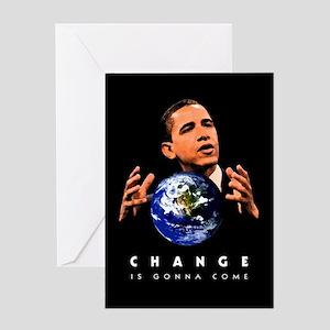 Change Space:dark: Greeting Card