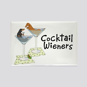 Cocktail Wieners (duo) Rectangle Magnet