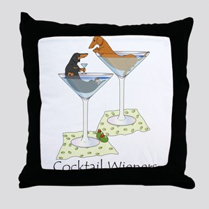 Cocktail Wieners (duo) Throw Pillow