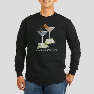 Cocktail Wieners (duo) Long Sleeve Dark T-Shirt