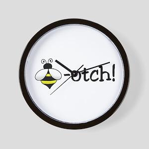 Beeotch Wall Clock