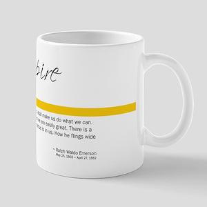 Emerson Quote: Inspiration Mug